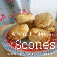 These Apricot & Pecan Scones are a gorgeous treat - cover them in lashings and lashings of clotted cream and jam and you have there our favourite treat of all time.