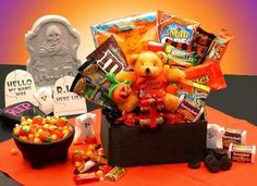 #Halloween Goodies at 1800 Basket with 15% Discount