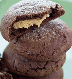 Chocolate Peanut Butter Cookies <3