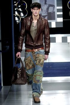 Dolce & Gabbana | Fall 2005 Menswear Collection | Style.com