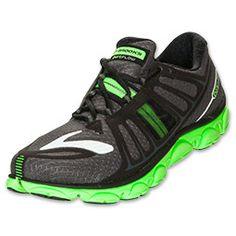 hot sale online 564ea 23c83 Men s Brooks PureFlow 2 Running Shoes   FinishLine.com   Black Lime Green