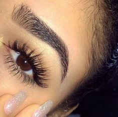 No one likes short. lackluster lashes, but getting extensions or falsies applied on a regular basis can be expensive and time consuming. #applyinglashes
