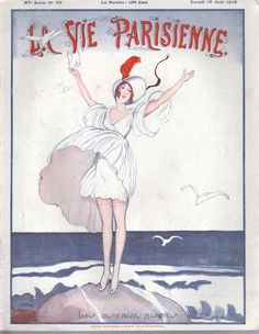 "La Vie Parisienne - ""The White Birds, 1919"