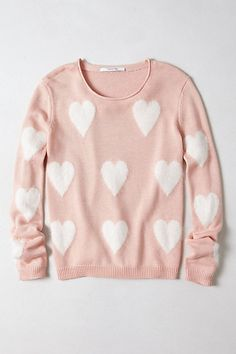 I know it is kind of little girlish, but I can't help myself. I am a sweater addict!