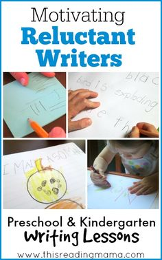 Motivating Reluctant Writers - This Reading Mama