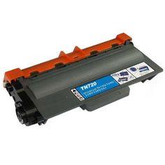 Premium Compatible Brother TN-720 Black Toner Cartridge