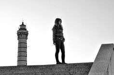 I'm taller than a lighthouse :) by Péter Mocsonoky, via 500px