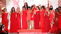 Stars campaign for heart health in New York red dress fashion show | MNN.com