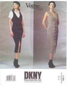 90s Vogue American Designer Pattern 1185 DKNY by CloesCloset, $13.00