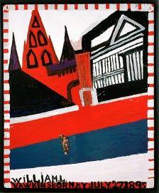 William Hawkins: 1895-1990, Visionary artist