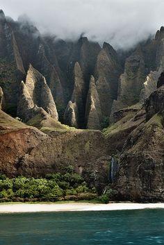Kalulau Trail, Kauai, Hawaii