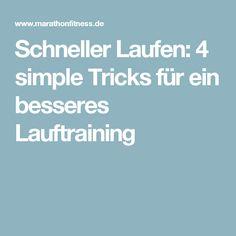Schneller Laufen: 4 simple Tricks für ein besseres Lauftraining