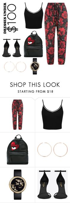 """""""Untitled #5"""" by ayllab ❤ liked on Polyvore featuring Anna Sui, Miss Selfridge, Chiara Ferragni, Anita Ko, Chanel and Yves Saint Laurent"""
