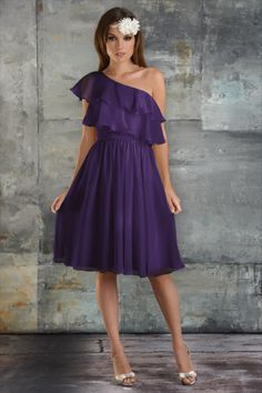 Cute bridesmaid dress, not sure about the color but love design