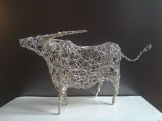 Buy Silver Highland Cow, Sculpture by Linda Hoyle on Artfinder. Discover thousands of other original paintings, prints, sculptures and photography from independent artists.
