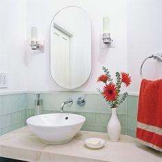 White And Gl Tile Bathroom Tilebar Backsplash Ideas
