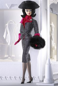 Doesn't lunch with this  elegant Silkstone doll sound simply fabulous? Muffy Roberts™ Barbie® Doll.