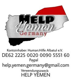 HELP YEMEN GERMANY North Face Logo, The North Face, Germany, Company Logo, Tech Companies, Logos, Economics, First Aid, Kids