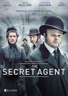 Toby Jones & Vicky McClure & Charles McDougall-The Secret Agent Period Drama Movies, Period Dramas, Movies Worth Watching, Good Movies To Watch, Amazon Prime Video, Detective, Movies Showing, Movie Tv, 80s Movies