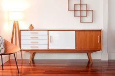 RM180 Sideboard entertainmnet unit with storage. by Senkki DIMENSIONS Length 180cm Depth 42cm Height 74cm