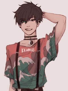 Jedes Mal, wenn ich so schwarze Haare sehe, denke ich an Keith von Voltron mit . Every time I see such black hair, I think of Keith from Voltron with . Art Mignon, Cute Art Styles, Wow Art, Art Reference Poses, Character Drawing, Zbrush Character, Boy Character, Character Design Inspiration, Pretty Art