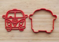 Size: inches Color plastic may be different from that indicated on the pictures.Please, do not wash in the dishwasher, but hand washing. And to protect from prolonged exposure to the sun and moisture. Fondant Molds, Vw Bus, Cookie Cutters, Cookies, Unique Jewelry, Handmade Gifts, Etsy, The Originals, Crack Crackers