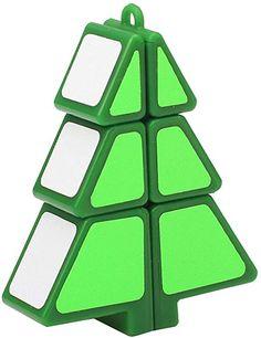 AmazonSmile: Longay Magic Cube 1X2X3 Christmas Tree Cube Puzzle Ultra-Smooth Magic Puzzle Xmas Gifts (Green): Arts, Crafts & Sewing Christmas Puzzle, Christmas Tree, Educational Christmas Gifts, Cube Puzzle, Green Gifts, Student Gifts, Xmas Gifts, Sewing Crafts, Students