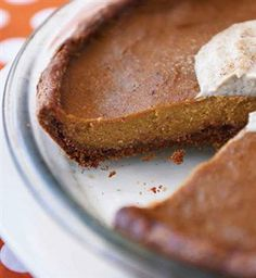 Nutritarian Pumpkin Pie from Dr. Fuhrman Online Library | Healthy and Delicious Recipes | DrFuhrman.com