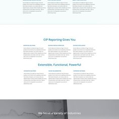 Create a captivating landing page for CIP Reporting that sells our story by jifhgj;hjhg