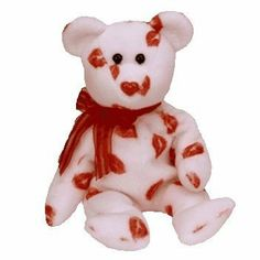 TY Beanie Baby - SMOOCH the Kisses Bear by Ty. $9.00. Smooch Beanie Baby from Ty. Born February 14, 2000.