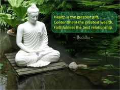 Health is the best gift. Contentment the best wealth. Trust the best relationship. Drink the nectar in meditation and become free from fear and sin.