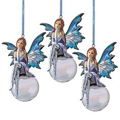 Design Toscano The Snow Fairy Goddess Holiday Ornament Set of 3 *** This is an Amazon Affiliate link. Check out this great product.