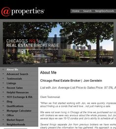 Jon Gerstein - @propertieslocated at 1586 N Clybourn Ave, Chicago IL 60642 offers Real Estate Agents, Real Estate Services. Be sure to follow us directly on our social profiles below.