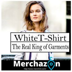When it comes to trusted #wardrobe essentials the white #TShirt is without a doubt the staple of all staples! A crisp white #Tee is the real king of garments. It just goes with anything from denim skirts to suits