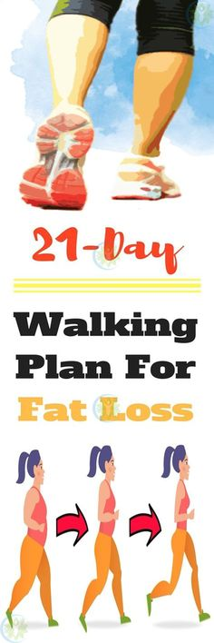 A 21-Day Walking Plan for Fat Loss - Best Healthy Advice