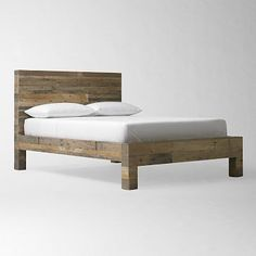 Emmerson(tm) Reclaimed Wood Bed - Natural