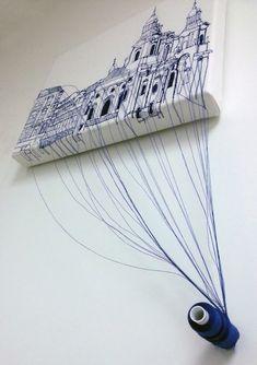 Мировые текстильные инсталляции: 30 невероятных арт-объектов - Ярмарка Мастеров - ручная работа, handmade