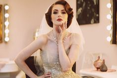 The National Vintage Wedding Fair at Charlton House, London on 15th May 2016