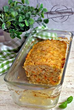 Meatloaf, Mozzarella, Cooking Recipes, Moca, Casserole, Meat, Food And Drinks, Chef Recipes