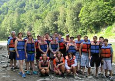BSA Troop #5 from N. Buffalo at Letchworth State Park - Spring 2013.