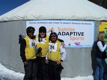 Sunrise Adaptive Sports- skiing and snowboarding | White Mountains of Arizona, Pinetop-Lakeside, Show Low, AZ