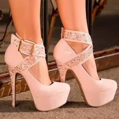 Pinkish high heel looking amazing for all | Fashion World