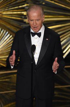 Best Pictures From the Oscars 2016   POPSUGAR Celebrity Photo 20...Joe Biden