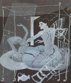 Τσαρούχης Γιάννης-Κρύο, καιρός για δύο, 1949 2 – Yannis Tsarouchis [1910-1989] | paletaart – Χρώμα & Φώς Queer Art, Alexander The Great, Caravaggio, Gay Art, Portraits, Impressionist, Erotica, Contemporary Art, Michelangelo