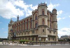 Le château de Saint-Germain-en-Laye abrite le Musée d'archéologie nationale. Les Yvelines. Ile de France