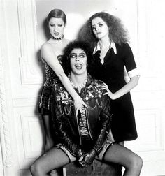 The Rocky Horror Picture Show has been entered into the Hall of Fame of the Academy of Science Fiction, Fantasy & Horror Films, USA, and the National Film Preservation Board, USA. Rocky Horror Show, Tim Curry Rocky Horror, The Rocky Horror Picture Show, The Way He Looks, The Best Films, Print Pictures, Film Movie, Aesthetic Pictures, Horror Movies
