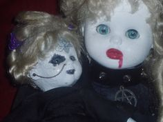 Two of the first dolls I created :)