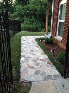 Sidewalk - step 3 - finished!