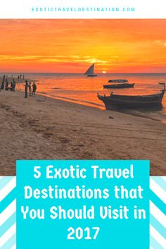 At Exotic Travel Destination, we keep an eye on the travel spots that are trending and are constantly in the news for all the right reasons. If you have been bitten by the travel bug, and wish to visit some amazing places that are slightly off the track but popular nonetheless, you can visit any of these exotic travel destinations in 2017. These are some wonderful destinations that deserve a visit, at least once, in your life.