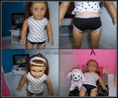 GiGi's Doll and Craft Creations: Wildside Collection free tank top pattern - American Girl Doll Fashion